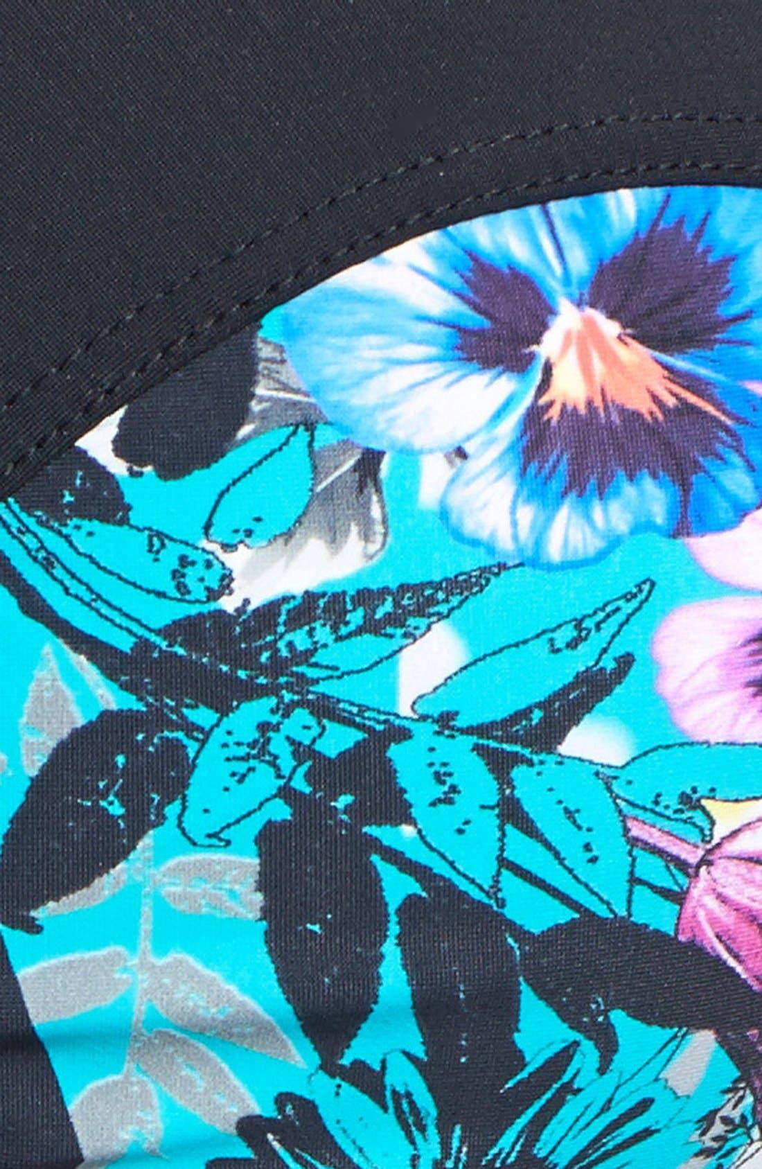 Alternate Image 5  - Red Carter 'Floriculture' Underwire Bikini Top