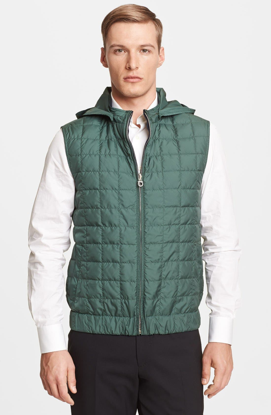 Alternate Image 2  - Salvatore Ferragamo Reversible Down Vest