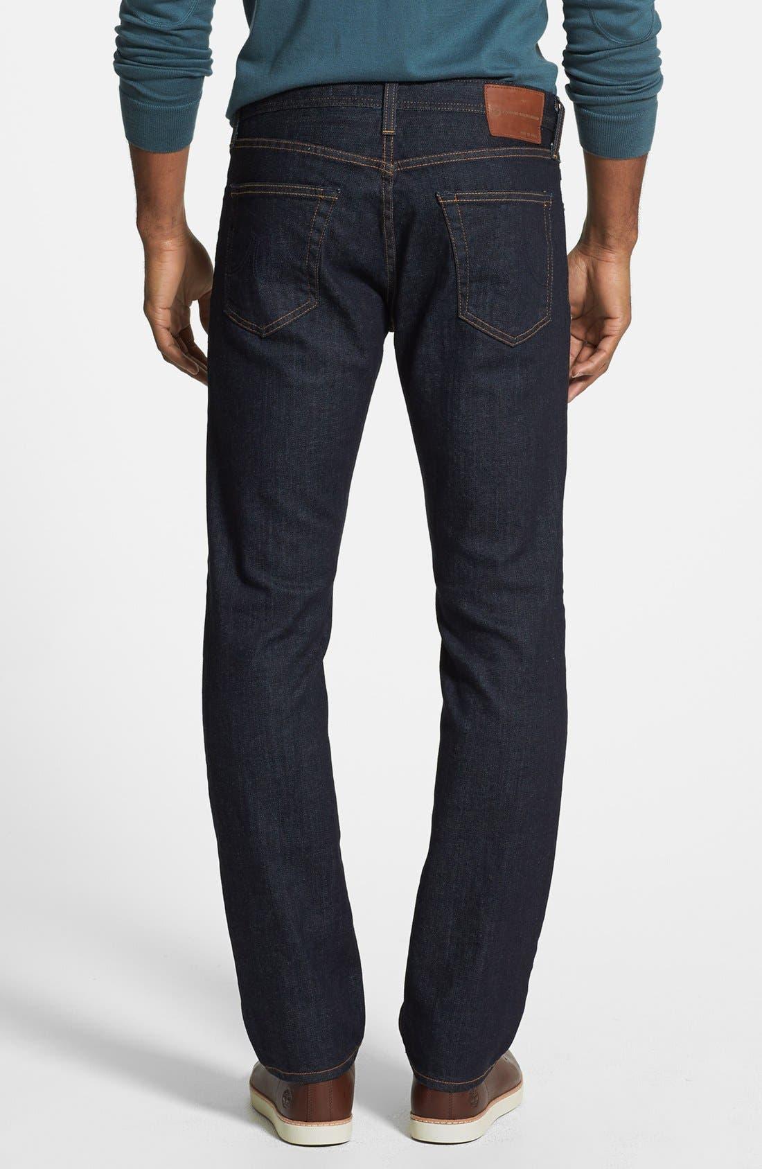 Alternate Image 2  - AG 'Graduate' Slim Straight Leg Jeans (Jack) (Regular & Tall)
