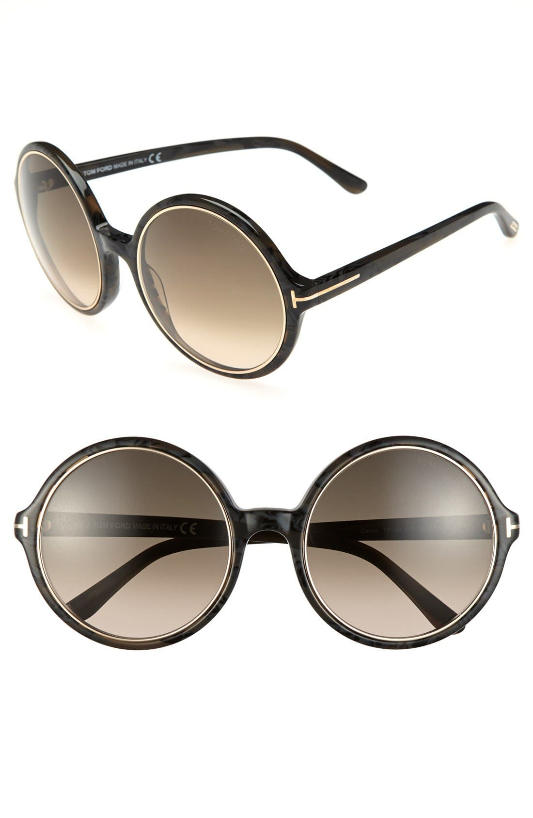 Alternate Image 1 Selected - Tom Ford 'Carrie' 59mm Sunglasses