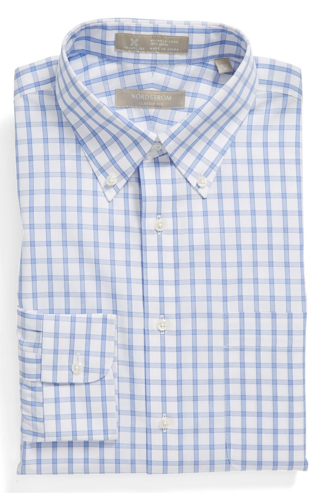 Alternate Image 1 Selected - Nordstrom Smartcare™ Wrinkle Free Classic Fit Dress Shirt