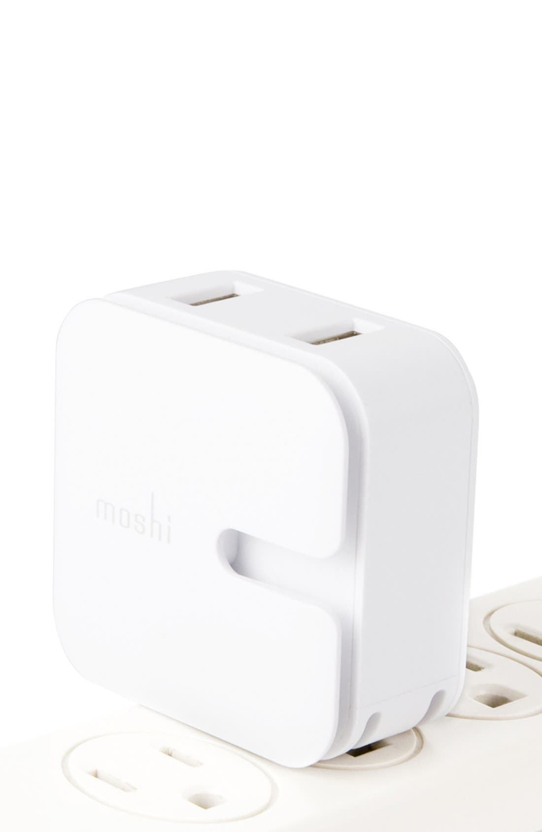 Alternate Image 3  - Moshi 'Rewind Duo' 10W USB Wall Charger