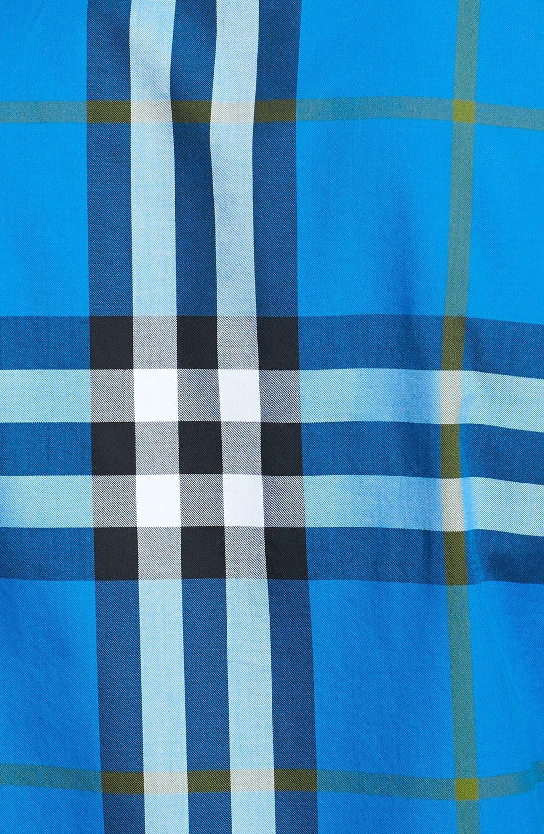 Alternate Image 3  - Burberry Brit 'Niall' Check Trim Fit Cotton Sport Shirt