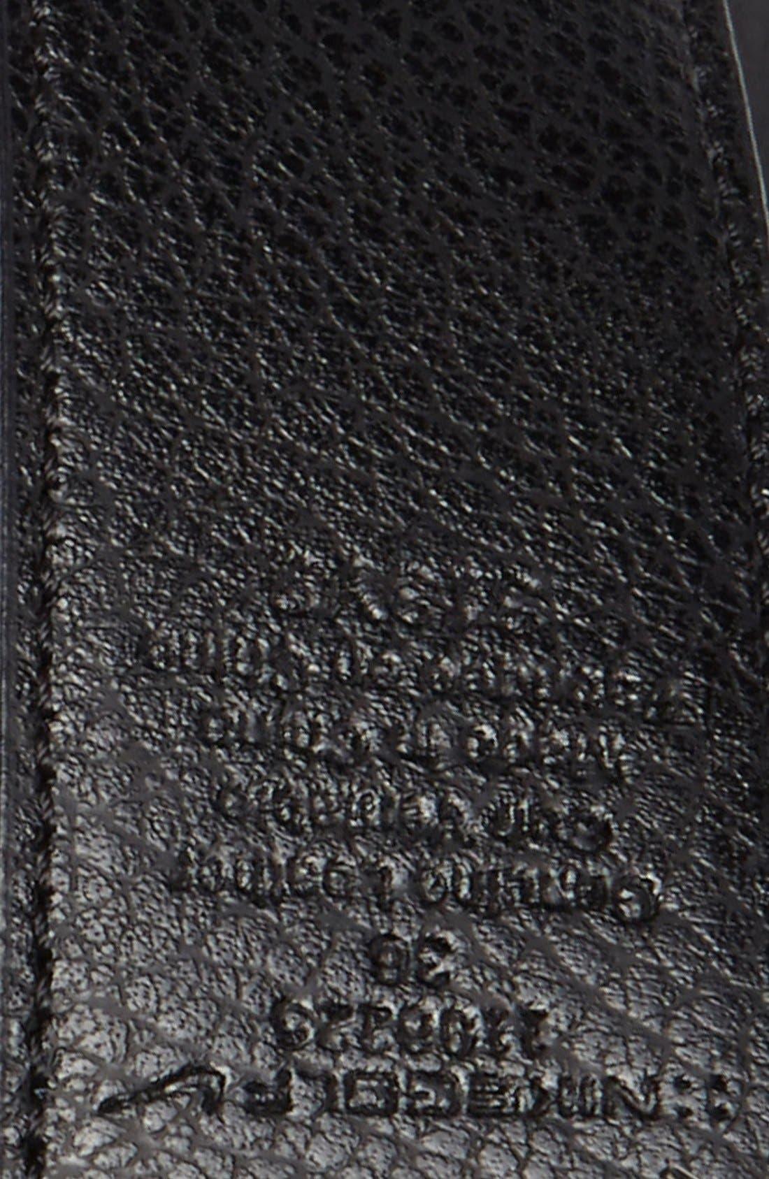 Alternate Image 3  - Nike Golf Reversible Leather Belt