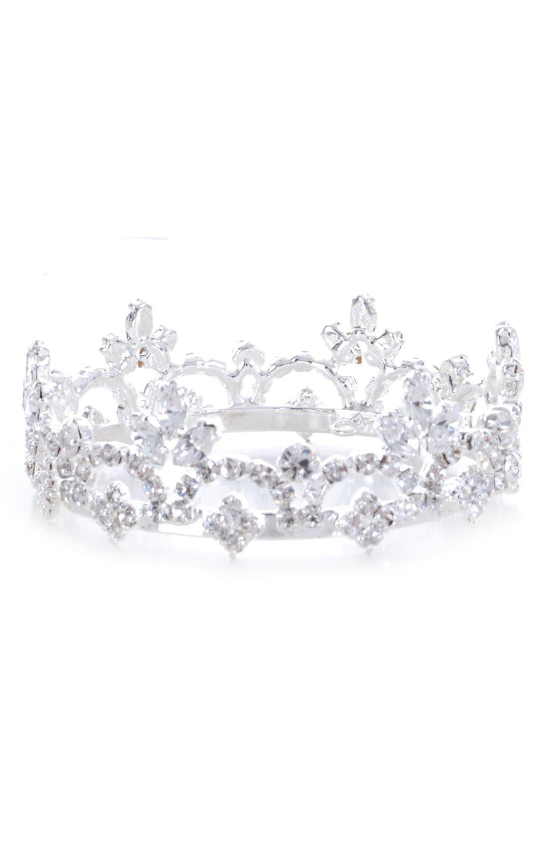 Alternate Image 1 Selected - Enchanted Shimmer 'Sophia' Crown (Baby Girls)