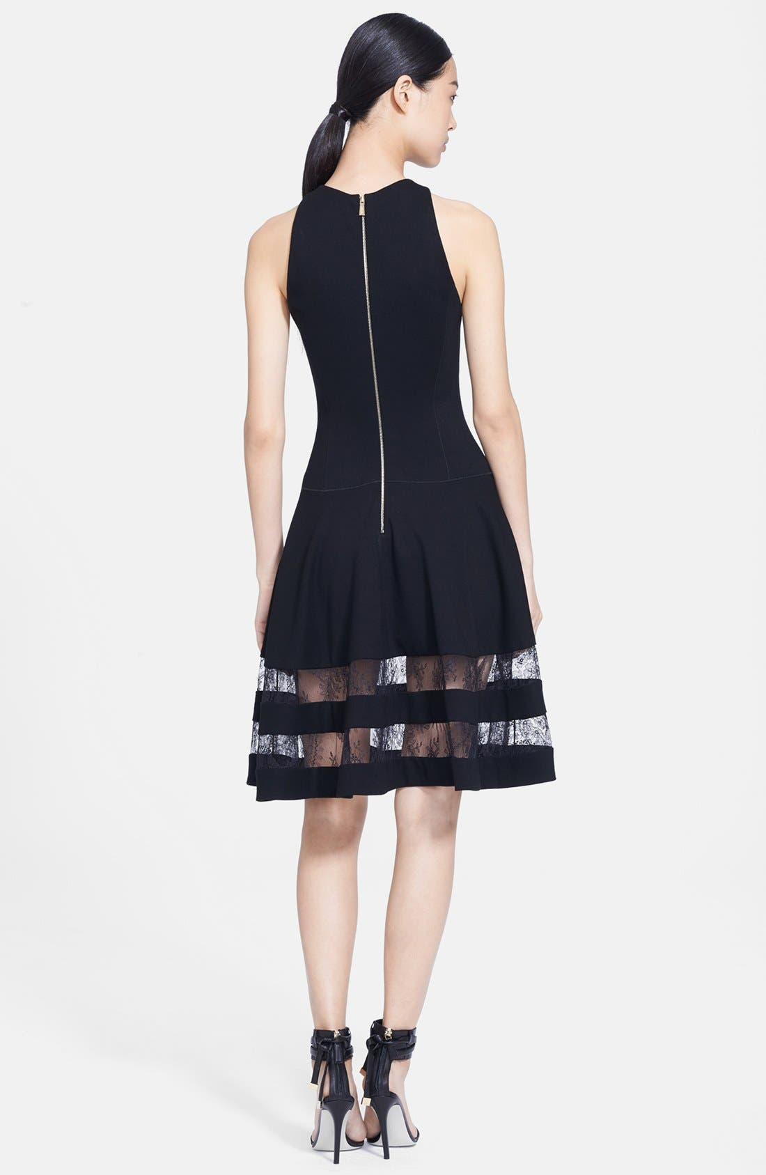 Alternate Image 2  - Jason Wu Lace Inset Ponte Dress