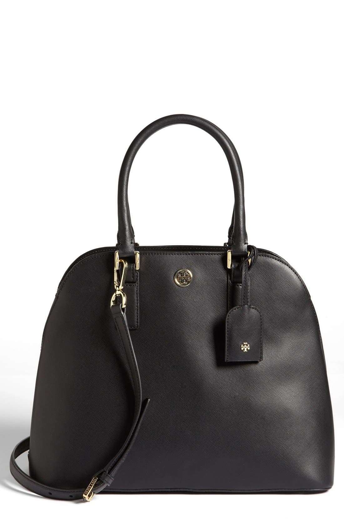 Alternate Image 1 Selected - Tory Burch 'Robinson' Open Dome Satchel
