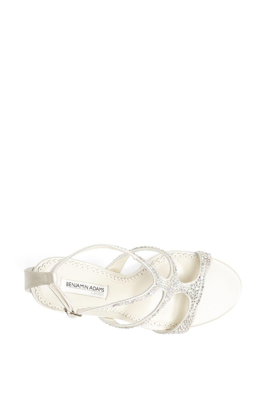 Alternate Image 3  - Benjamin Adams London 'Fox' Crystal Embellished Sandal