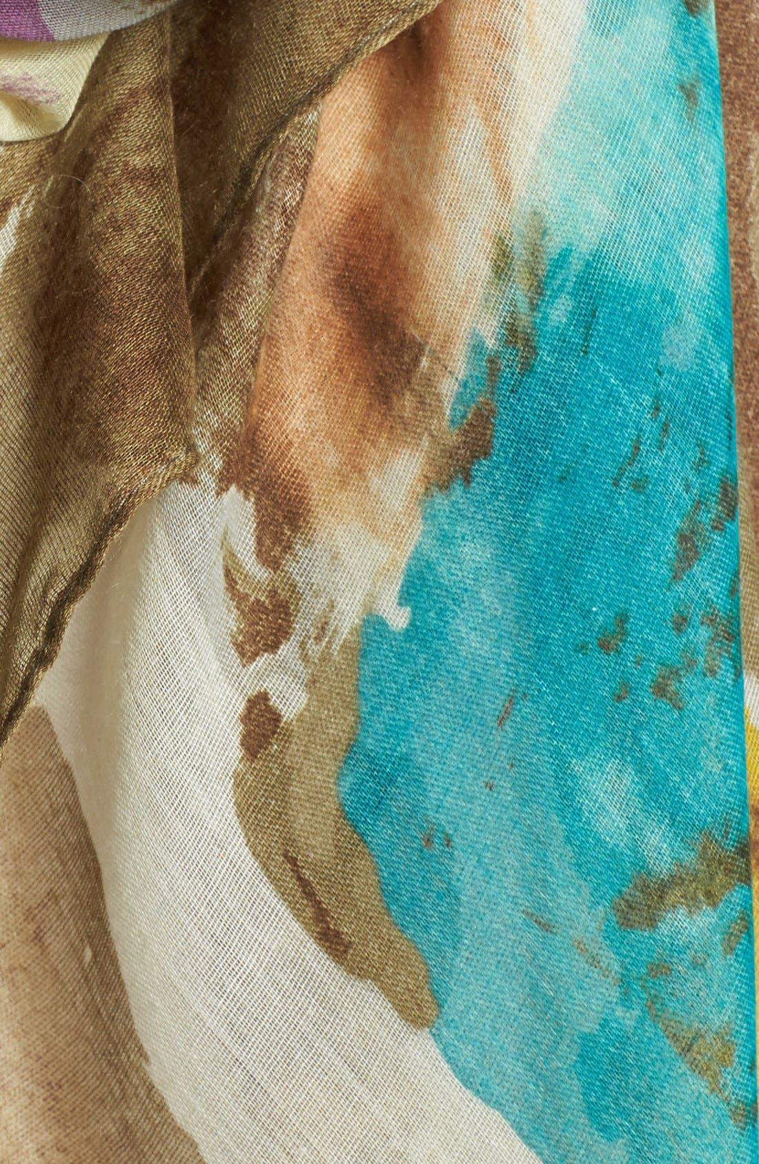 Alternate Image 4  - Tasha 'Paint Puddles' Scarf
