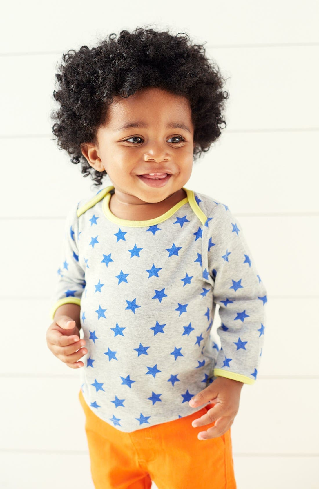 Alternate Image 2  - Mini Boden Cotton Layering T-Shirt (2-Pack) (Baby Boys)
