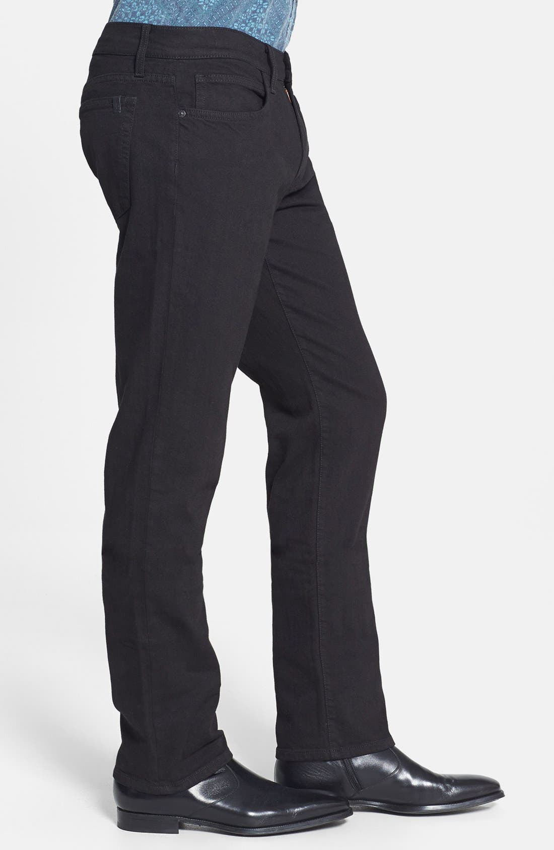 Alternate Image 3  - Joe's 'Brixton' Slim Fit Jeans (Jet Black)