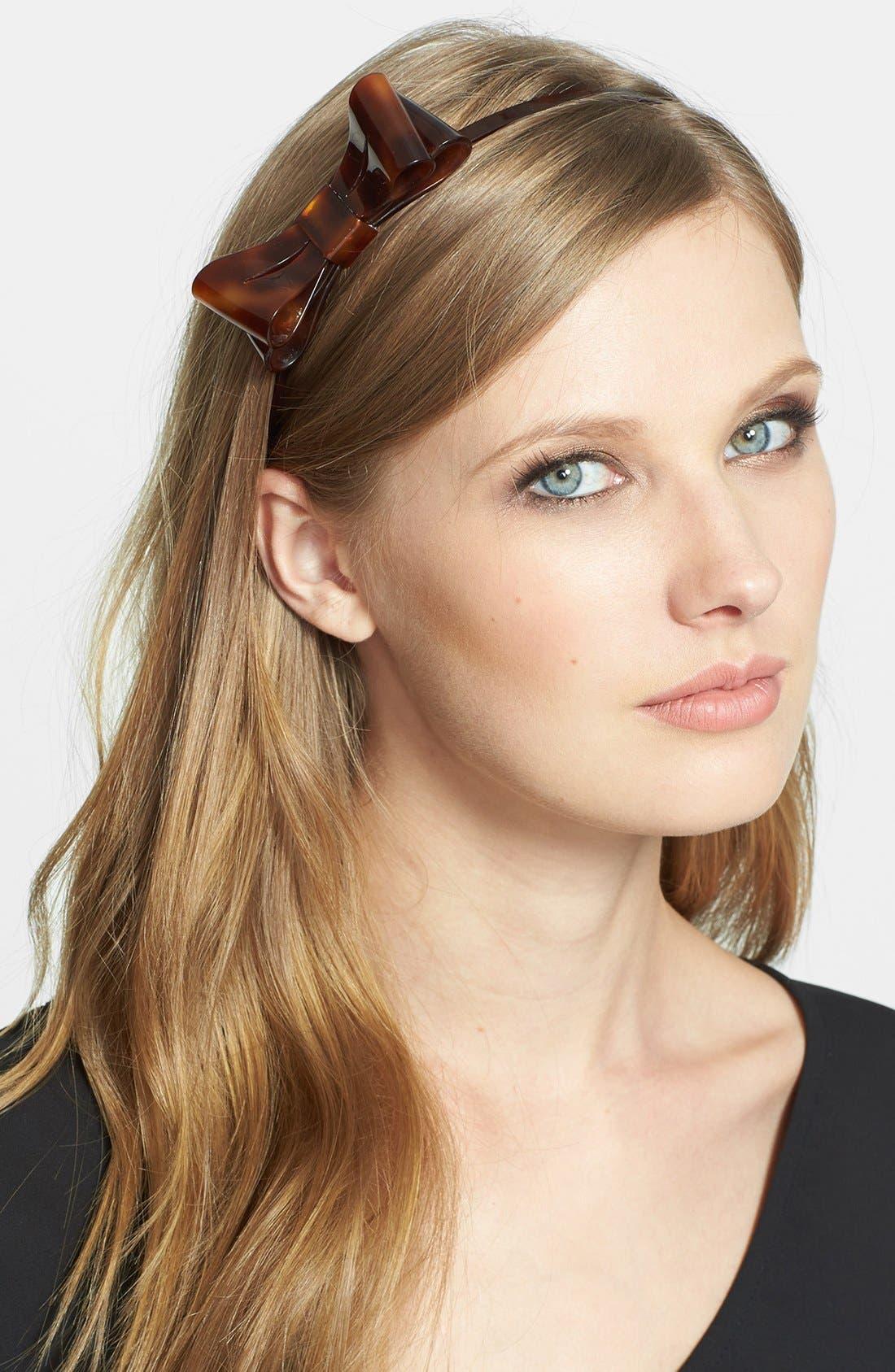 Main Image - L. Erickson 'Ballet Bow' Headband