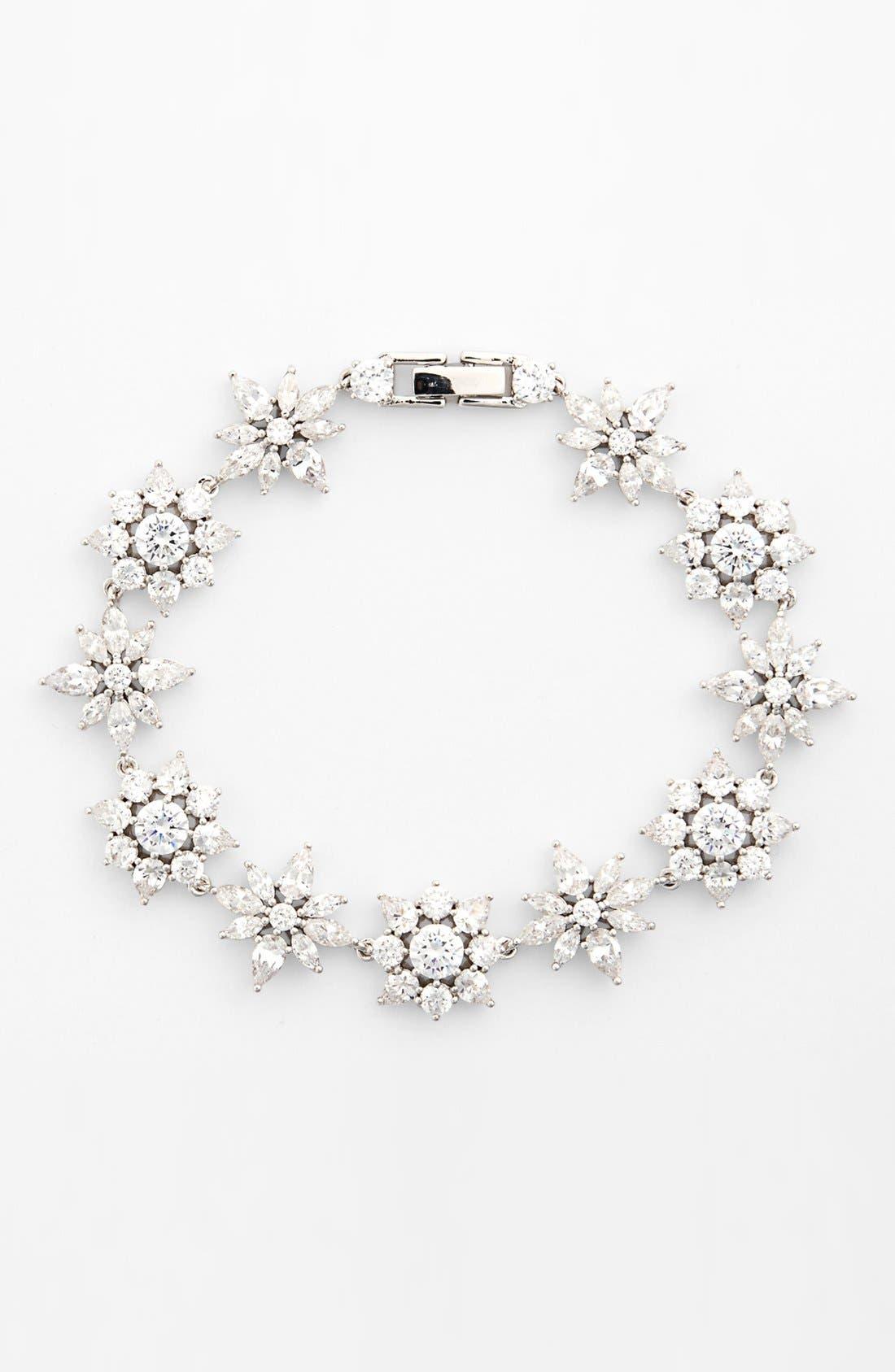 Main Image - Nadri 'Flores' Cluster Line Bracelet