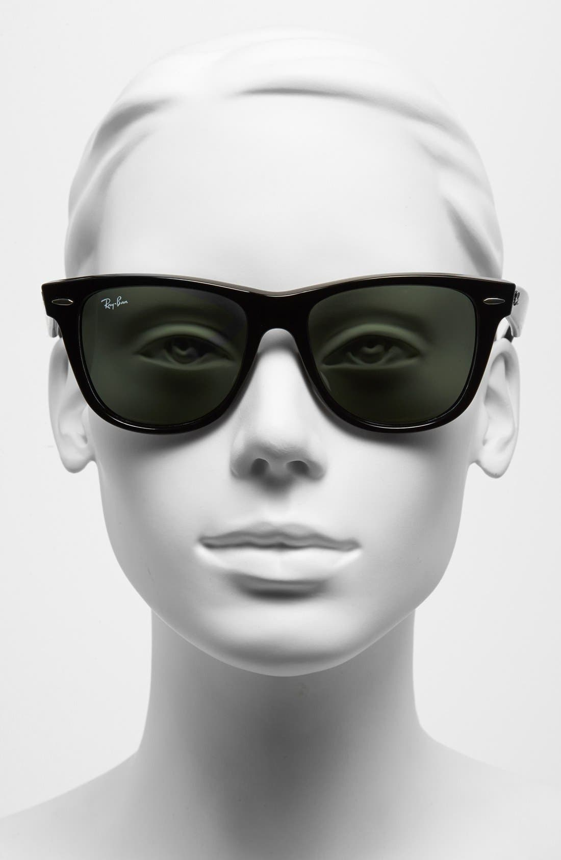 Alternate Image 2  - Ray-Ban Large Classic Wayfarer 54mm Sunglasses