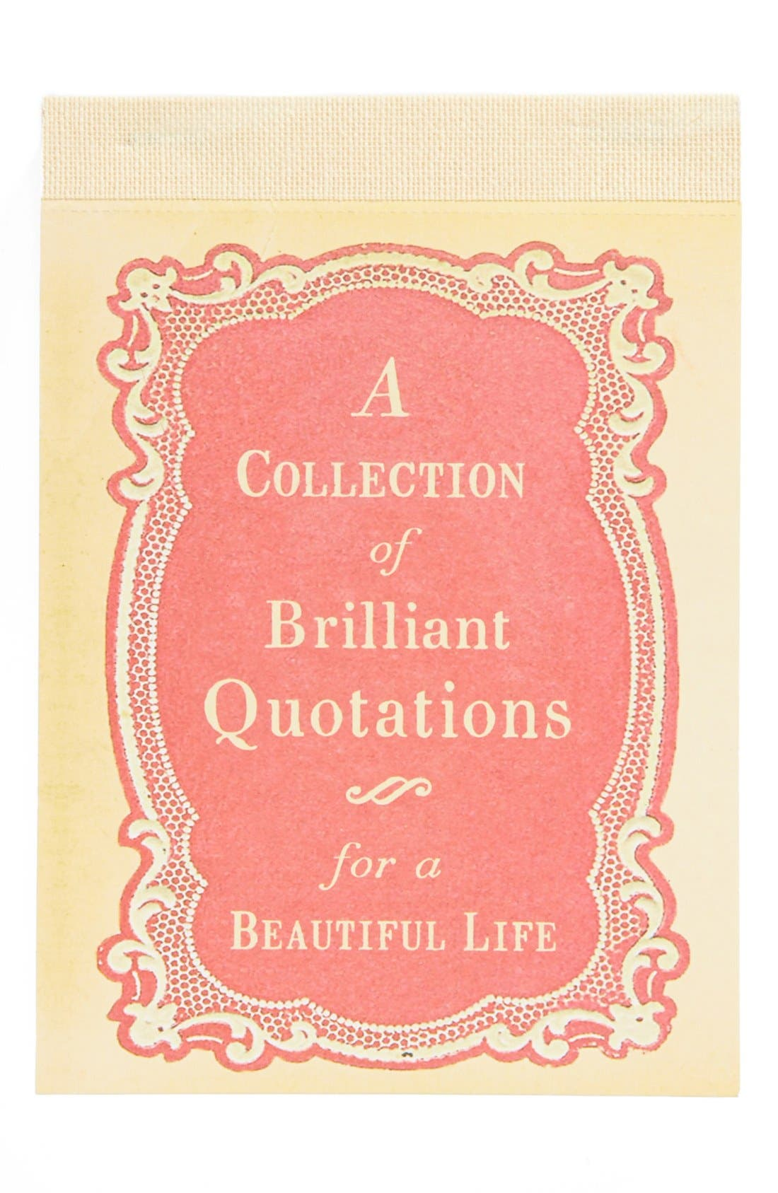 Alternate Image 1 Selected - Sugarboo Designs 'Collection of Brilliant Quotations' Notepad