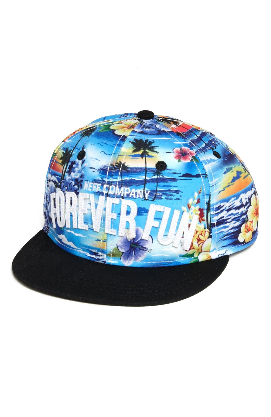 Alternate Image 1 Selected - Neff 'Forever Fun' Cap (Big Boys)