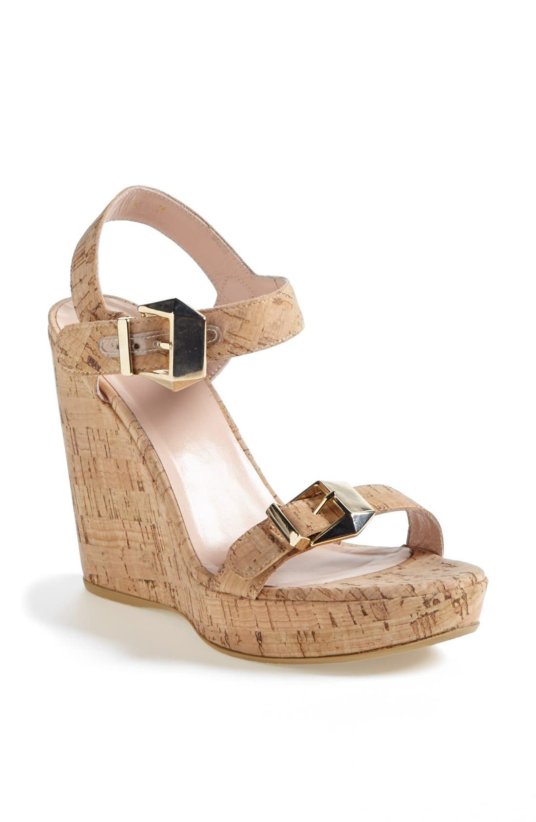 Main Image - Stuart Weitzman 'Twofer' Wedge (Nordstrom Exclusive)