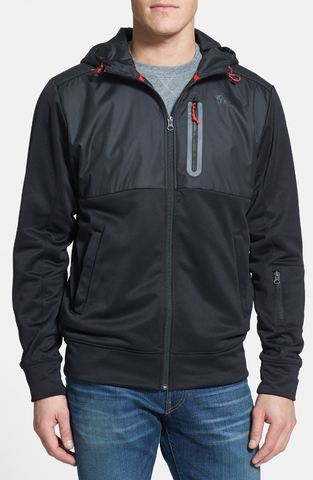 Alternate Image 1 Selected - The North Face 'Denoff' Full Zip Hoodie