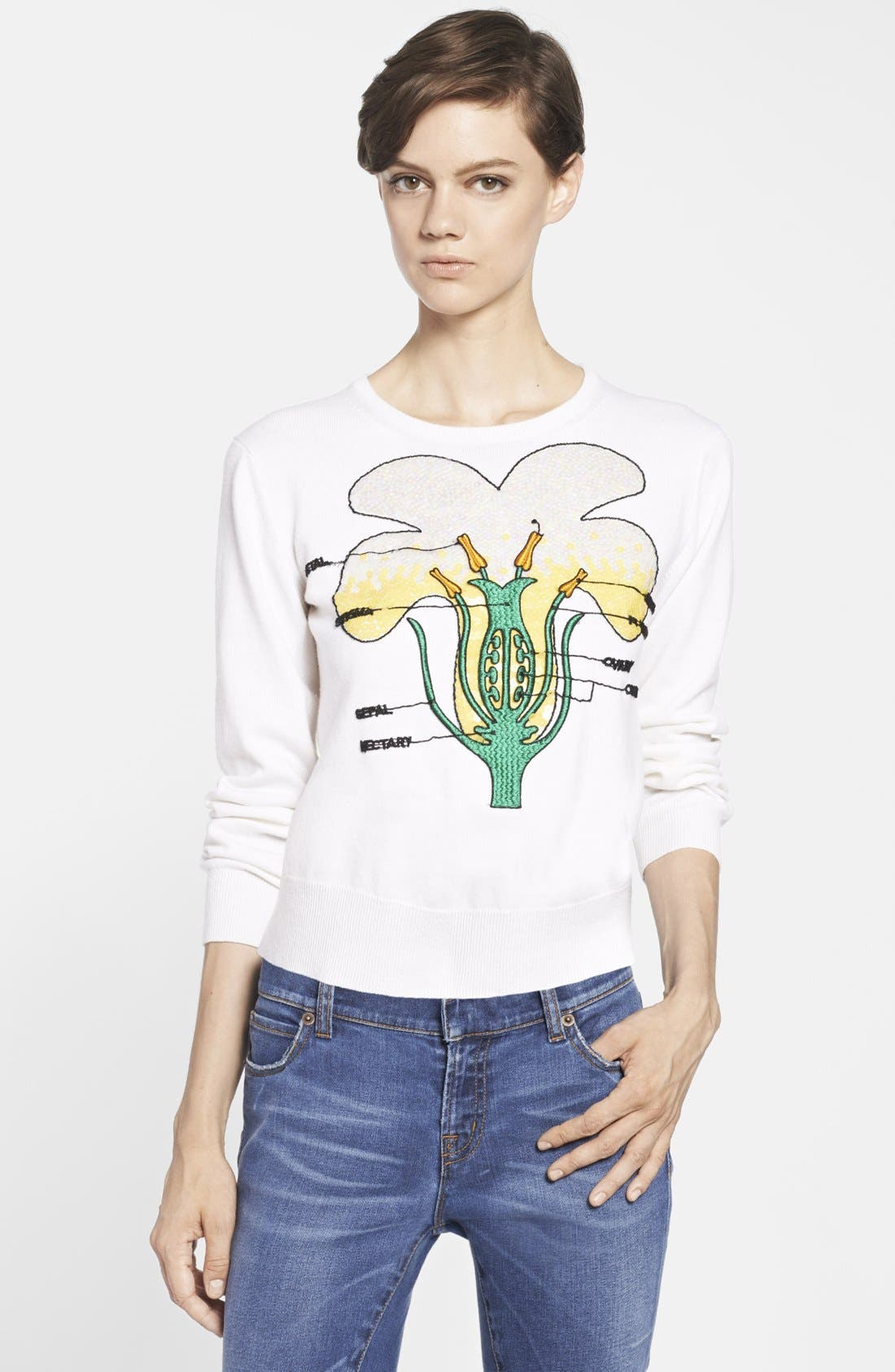 Alternate Image 3  - Christopher Kane 'Buttercup' Cashmere Sweater