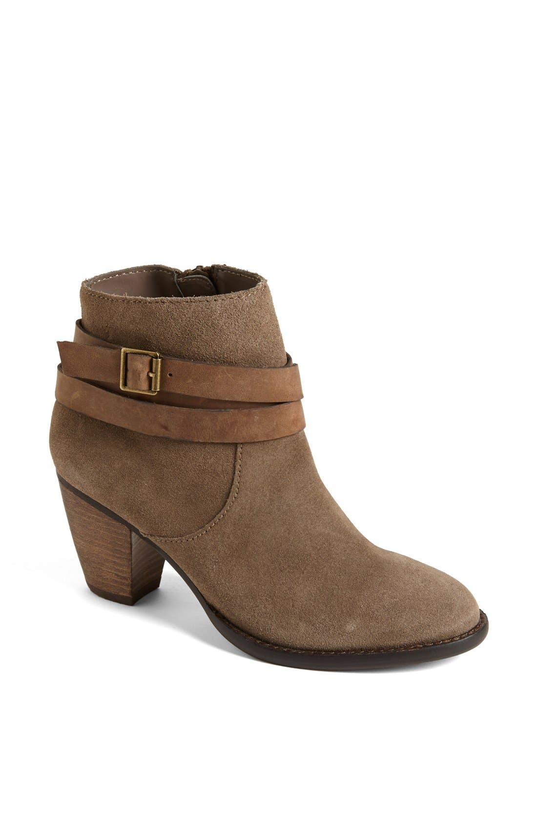 Alternate Image 1 Selected - Steve Madden 'Morrgan' Suede Bootie