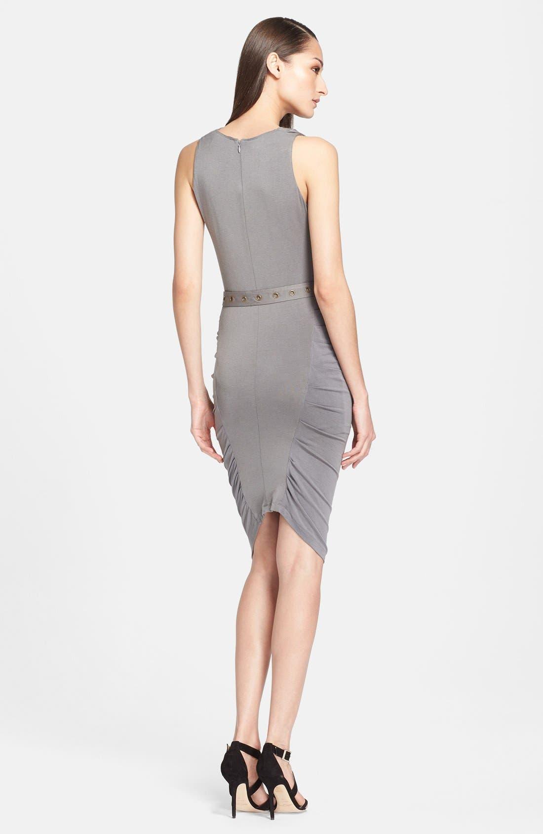 Alternate Image 2  - Donna Karan Collection 'Body' Belted Jersey Dress