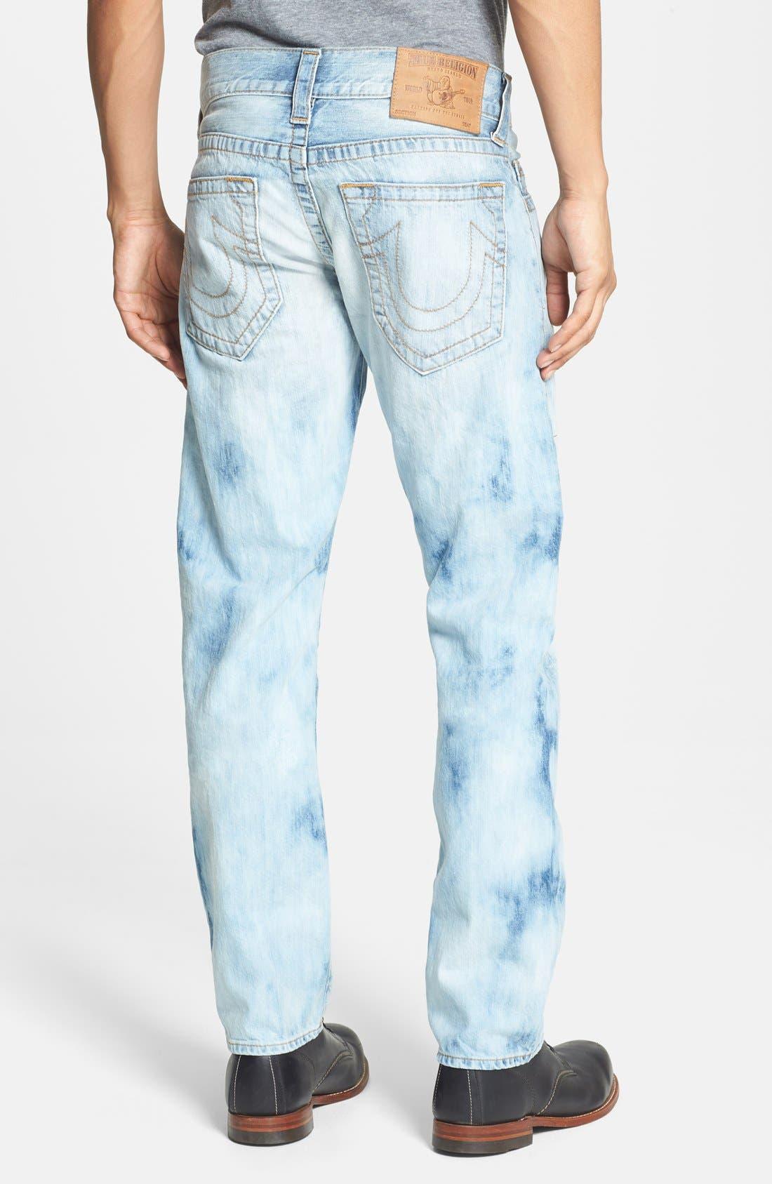 Alternate Image 1 Selected - True Religion Brand Jeans 'Geno' Straight Leg Jeans (YLL Antelope)