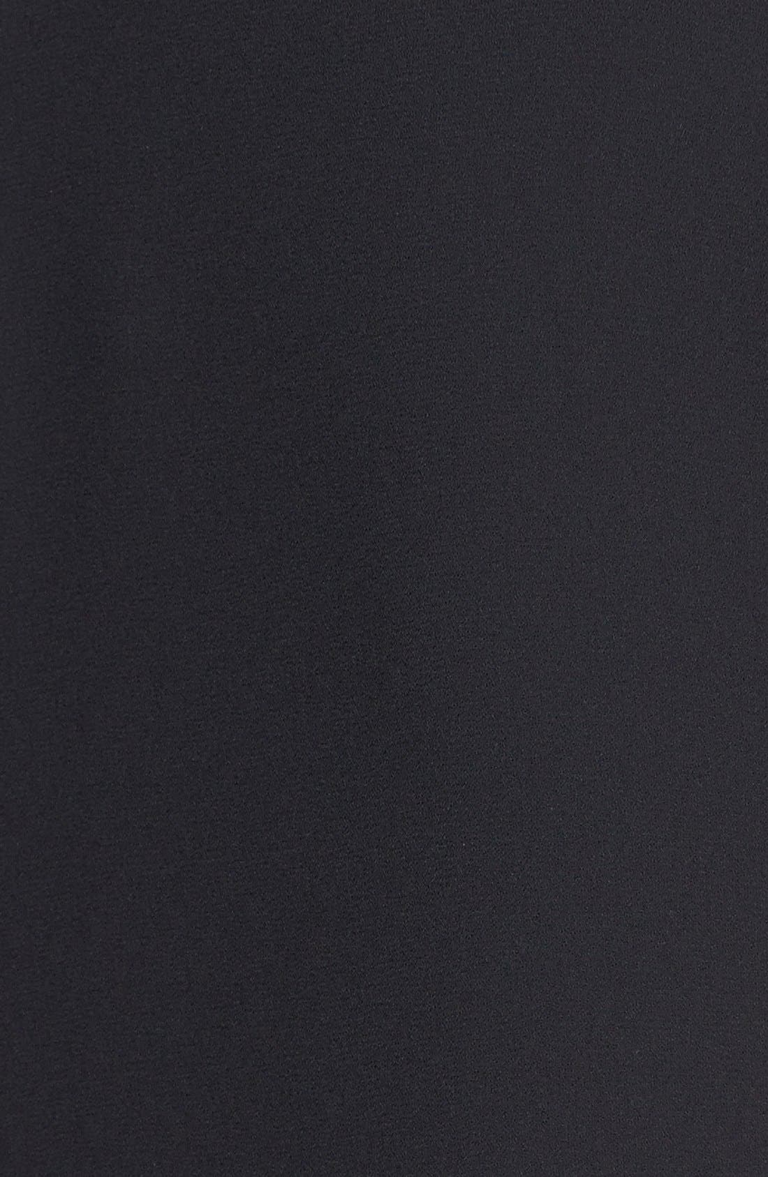 Alternate Image 4  - BCBGMAXAZRIA 'Eren' Side Slash Georgette Dress