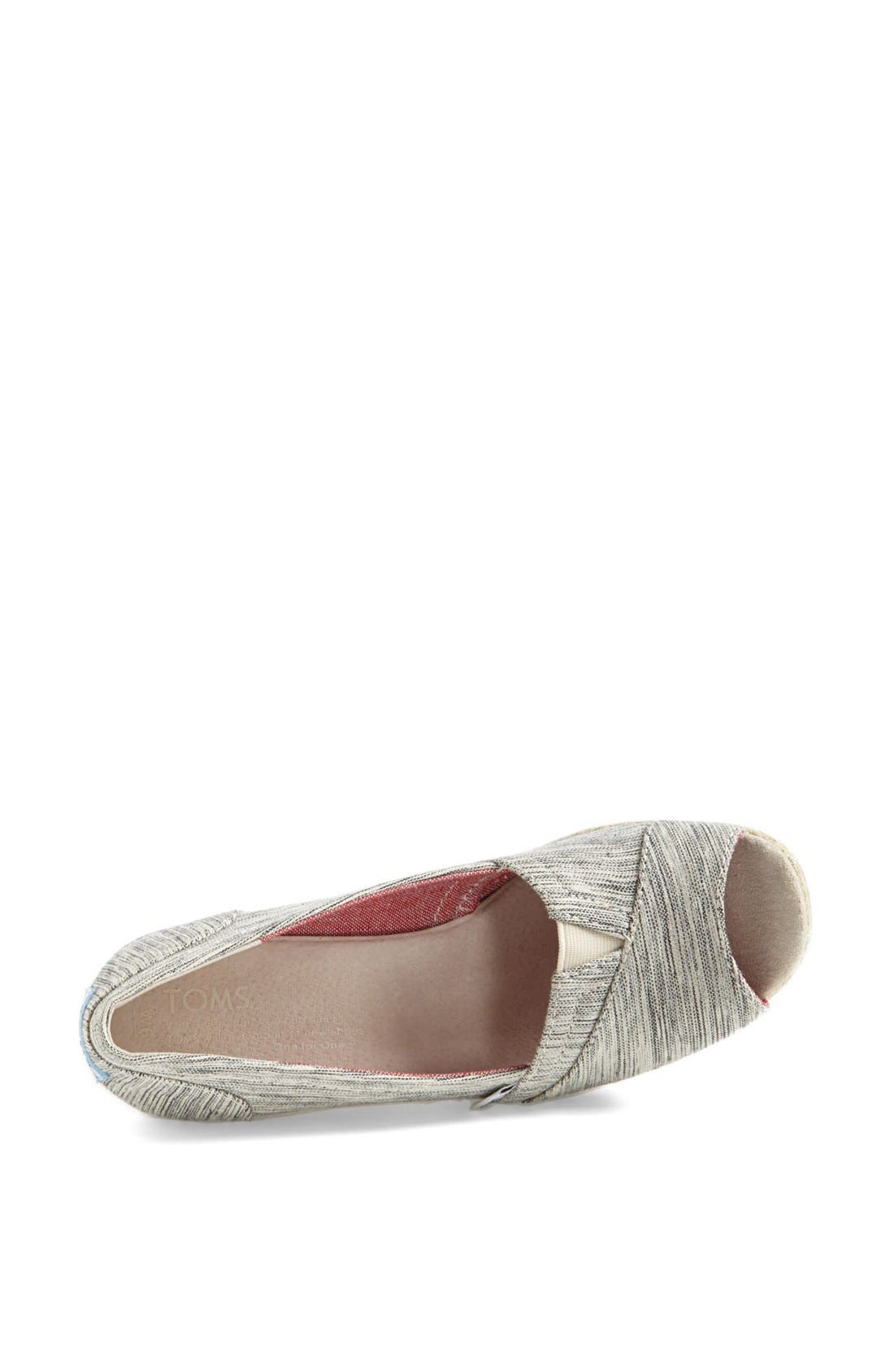 Alternate Image 3  - TOMS Space Dyed Wedge (Women)