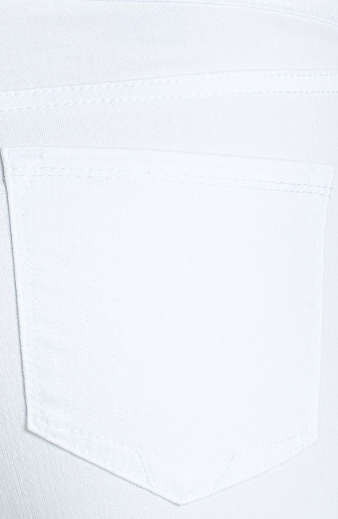 Alternate Image 3  - NYDJ 'Anabelle' Stretch Skinny Jeans (Optic White)