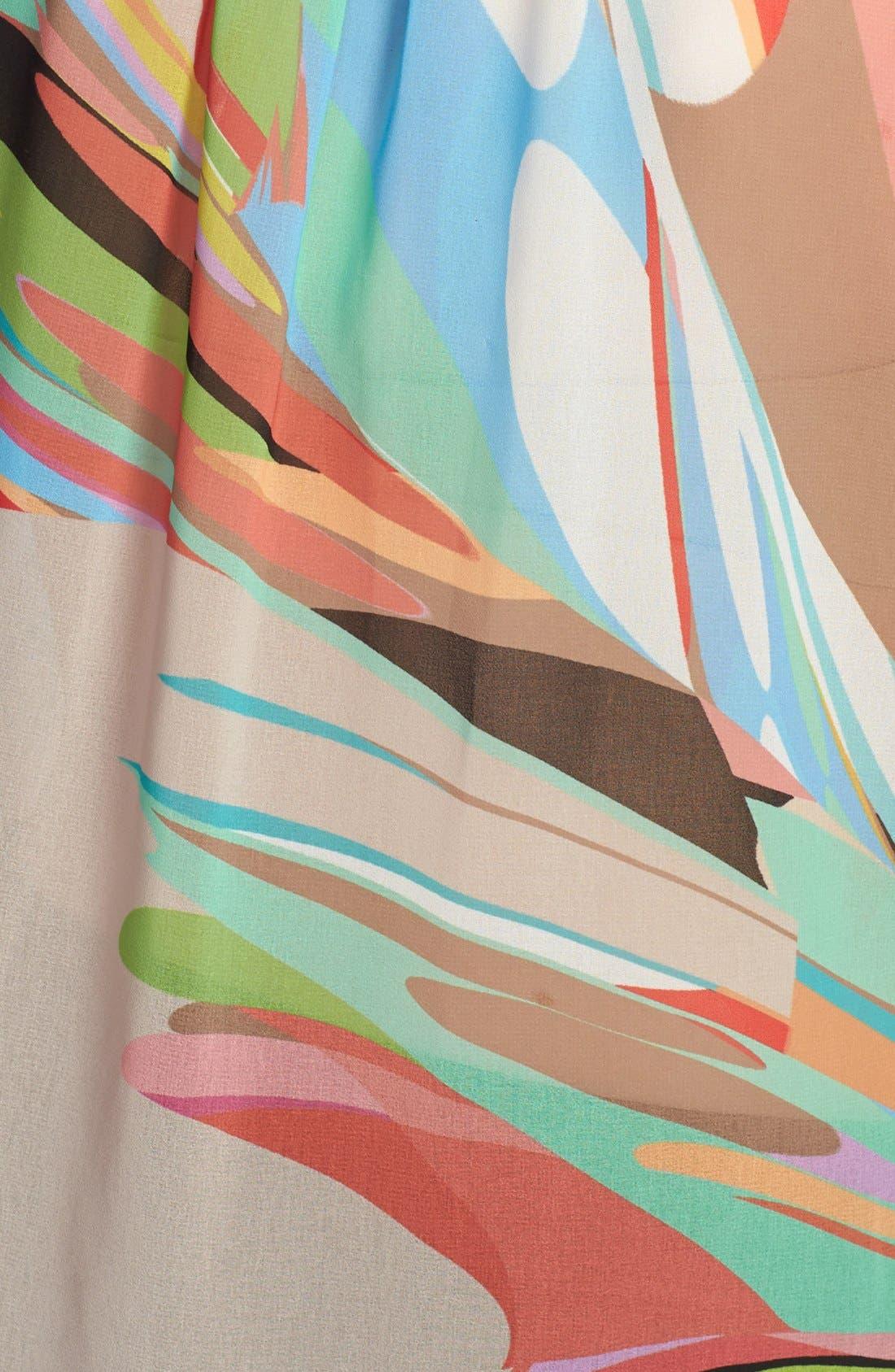 Alternate Image 3  - Trina Turk 'Muriel' Print Drape Top