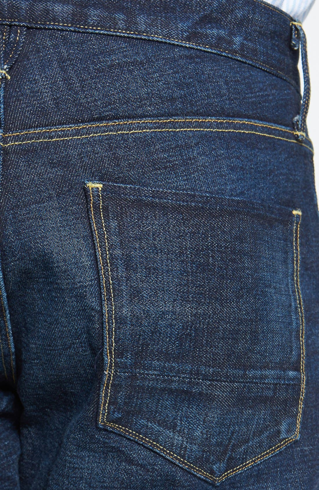 Alternate Image 4  - 3x1 NYC 'M4' Straight Leg Selvedge Jeans (Walker)