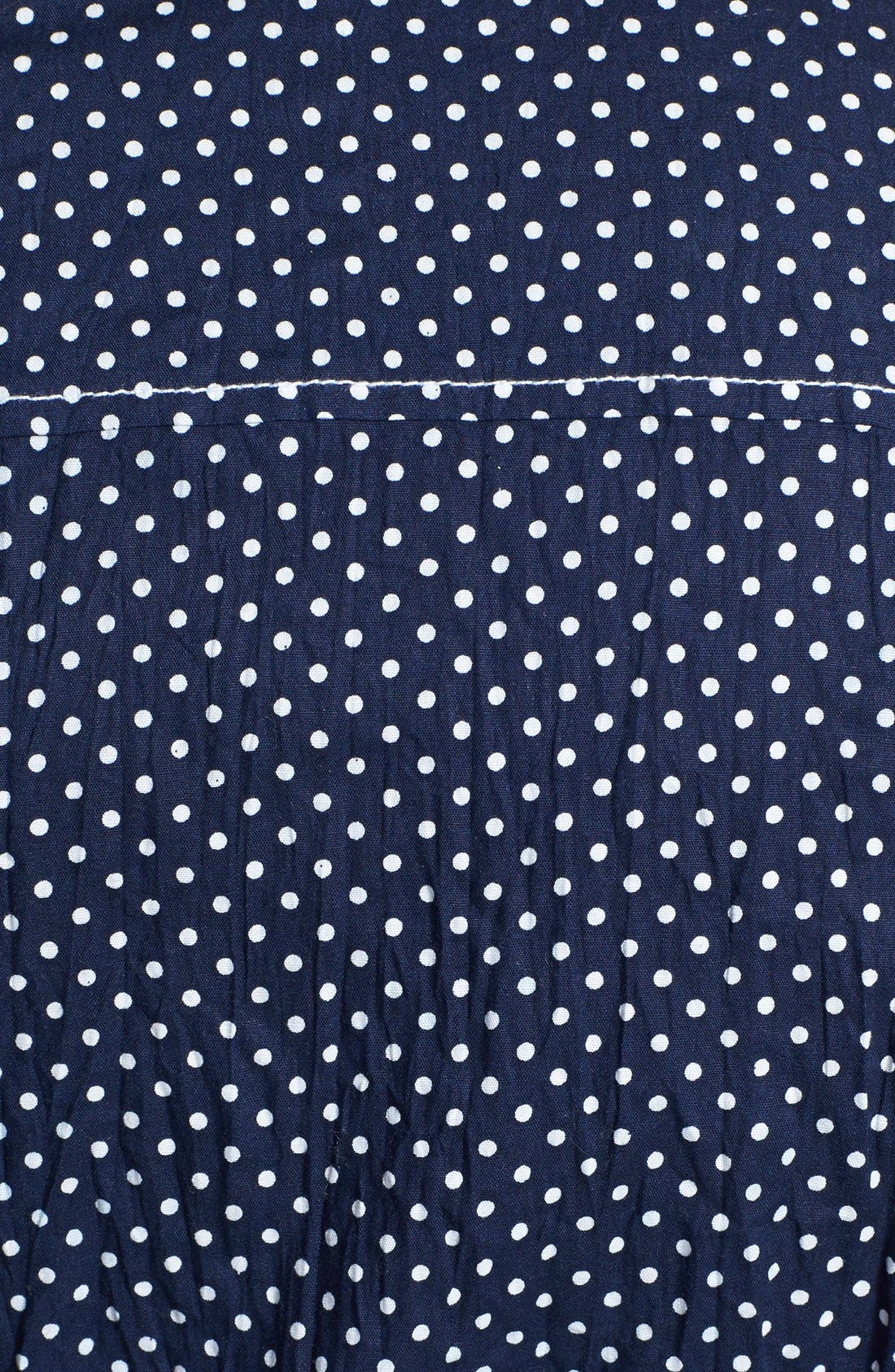 Alternate Image 3  - Nexx Dot Print Cotton Shirt