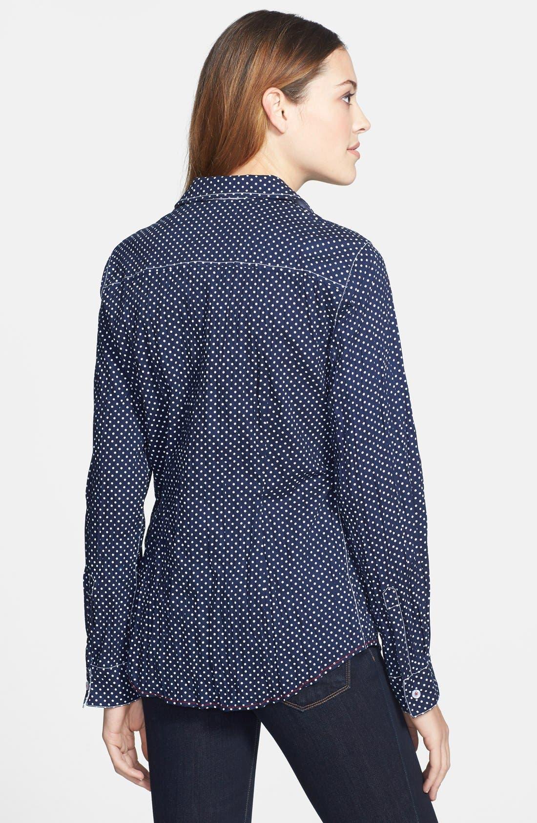 Alternate Image 2  - Nexx Dot Print Cotton Shirt