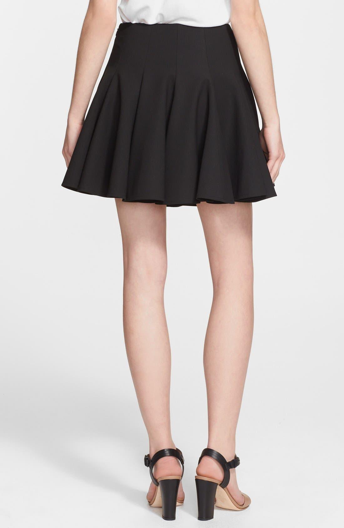 Alternate Image 2  - Elizabeth and James 'Morrison' Flared Stretch Skirt