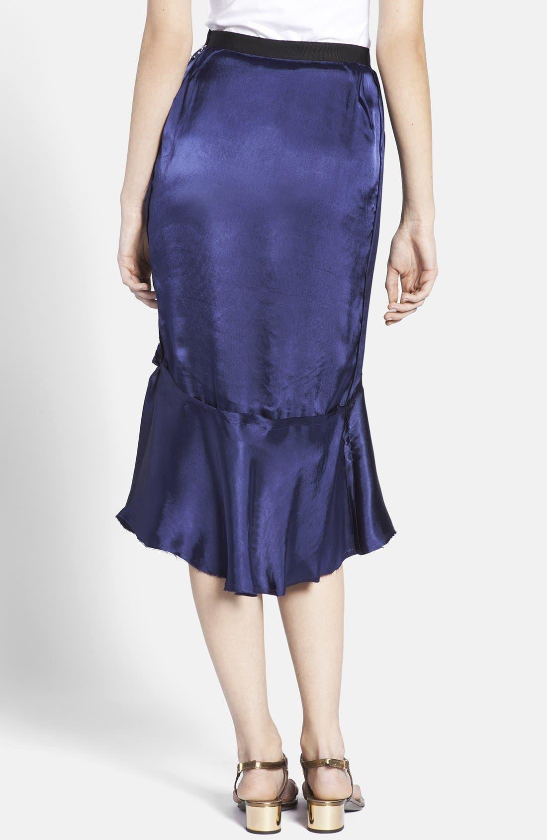 Alternate Image 2  - Lanvin Ruffled Hem Midi Skirt