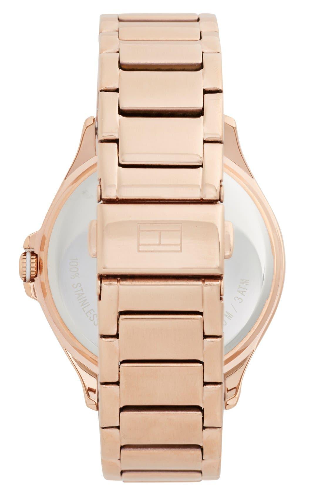 Alternate Image 2  - Tommy Hilfiger Bracelet Watch, 40mm