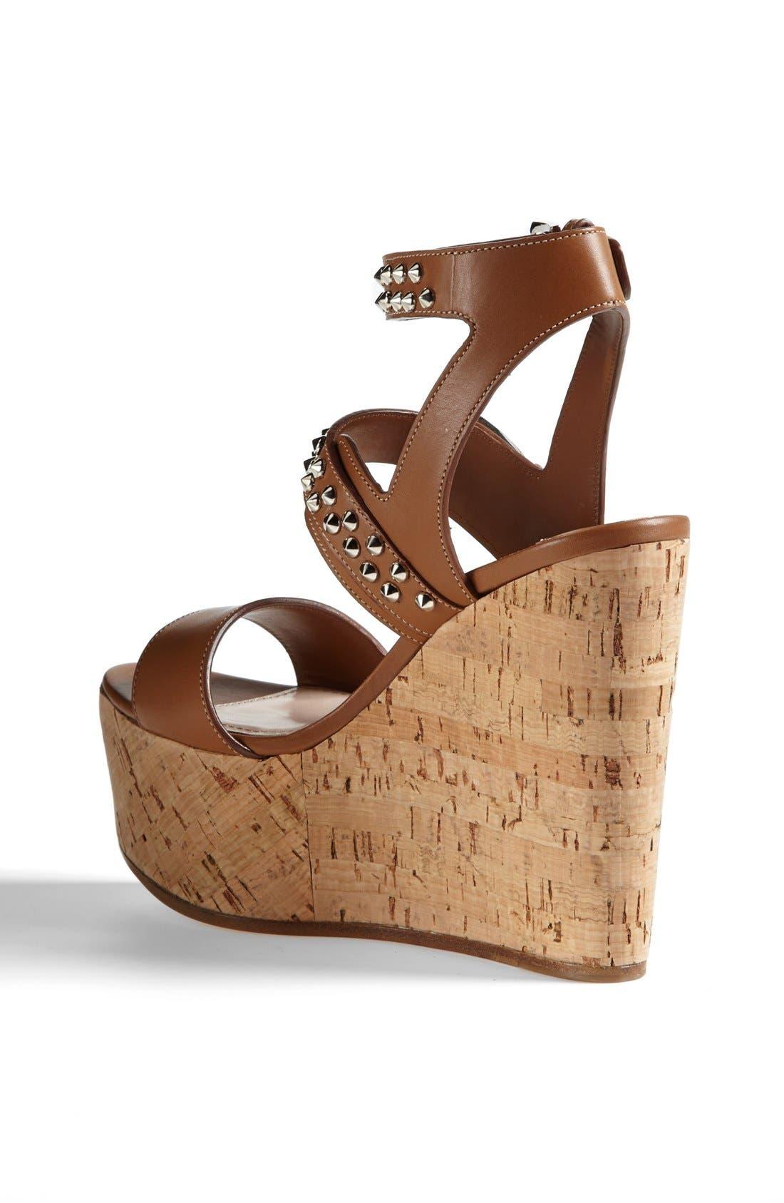 Alternate Image 2  - Miu Miu Studded Wedge Sandal