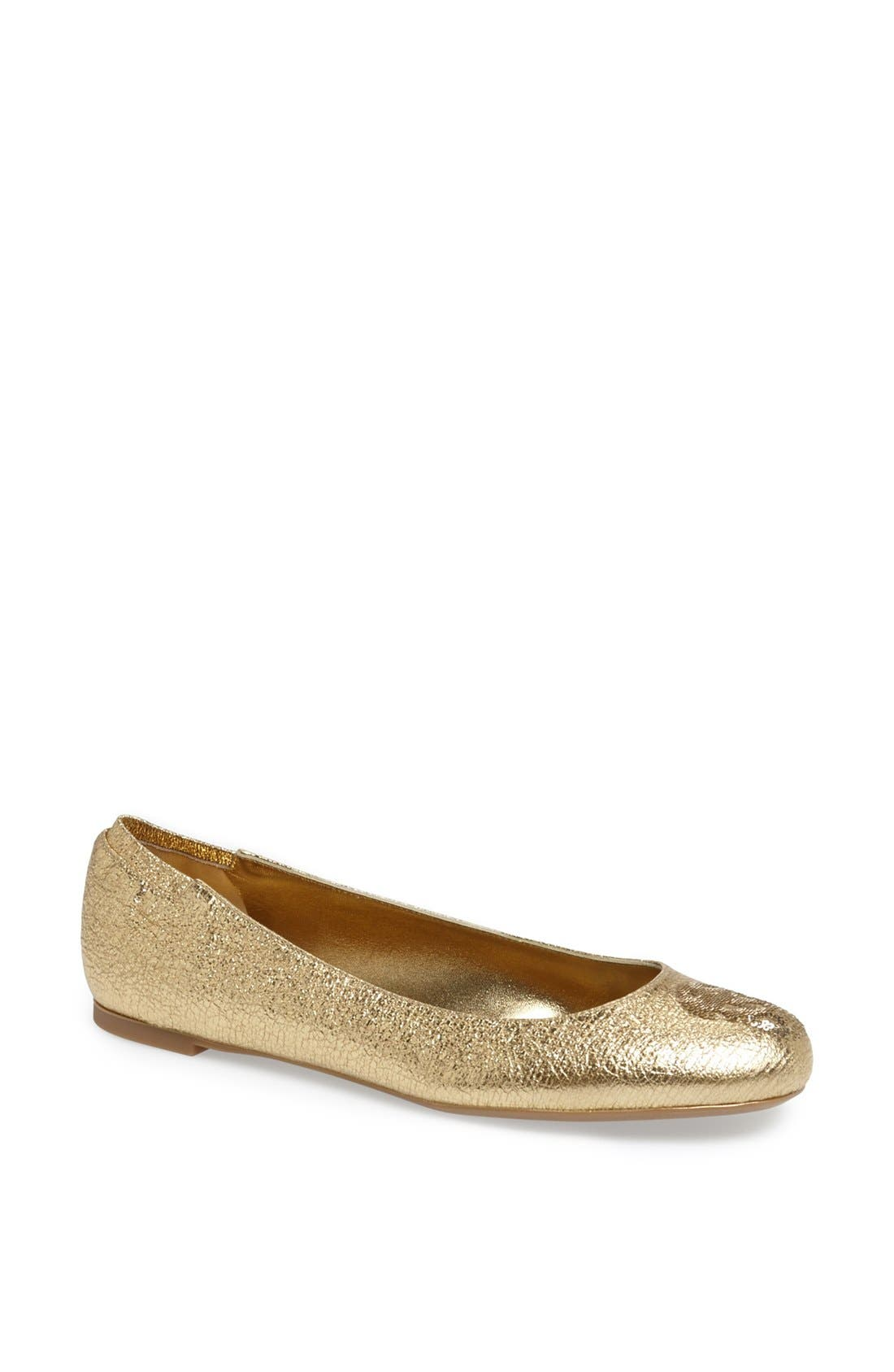 Alternate Image 1 Selected - Alexander McQueen 'Skull' Ballet Flat