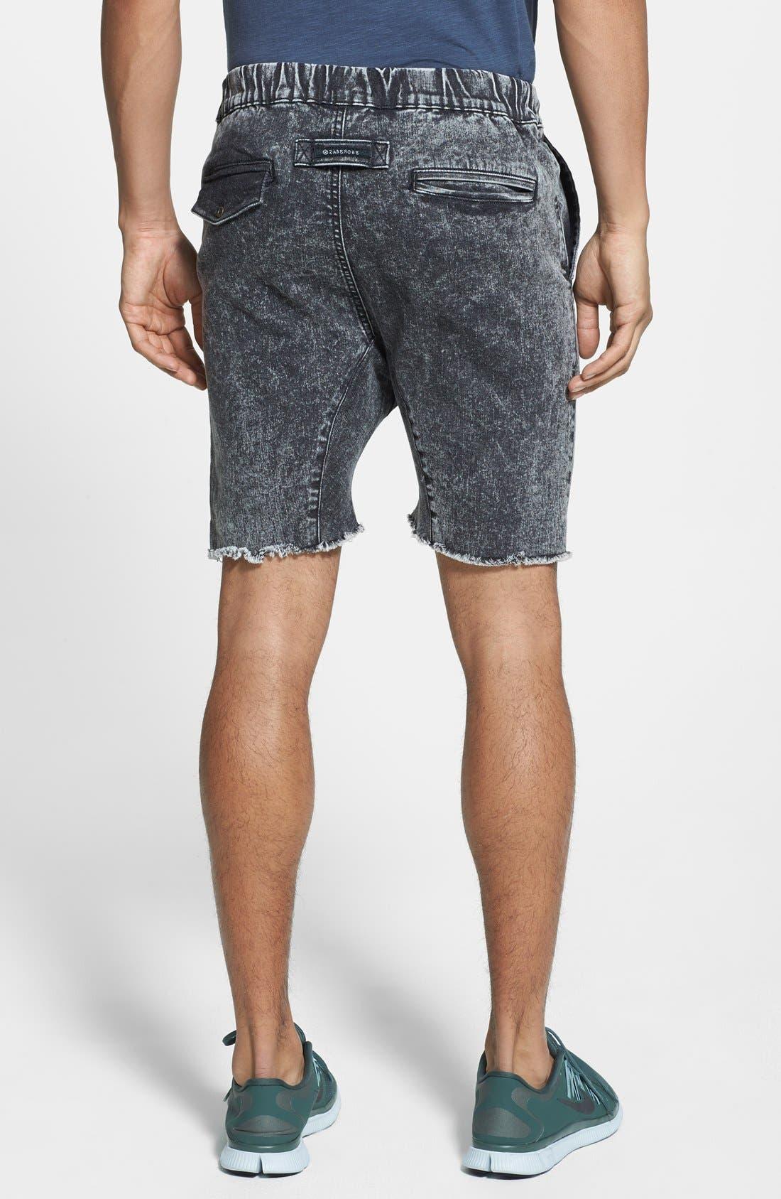 Alternate Image 3  - ZANEROBE 'Sureshot' Cutoff Jogger Shorts