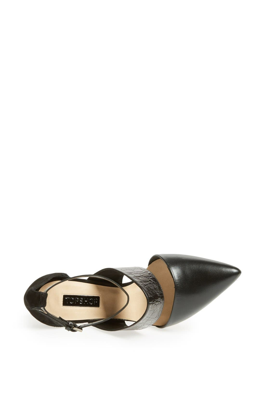 Alternate Image 3  - Topshop 'Gelato' Pump