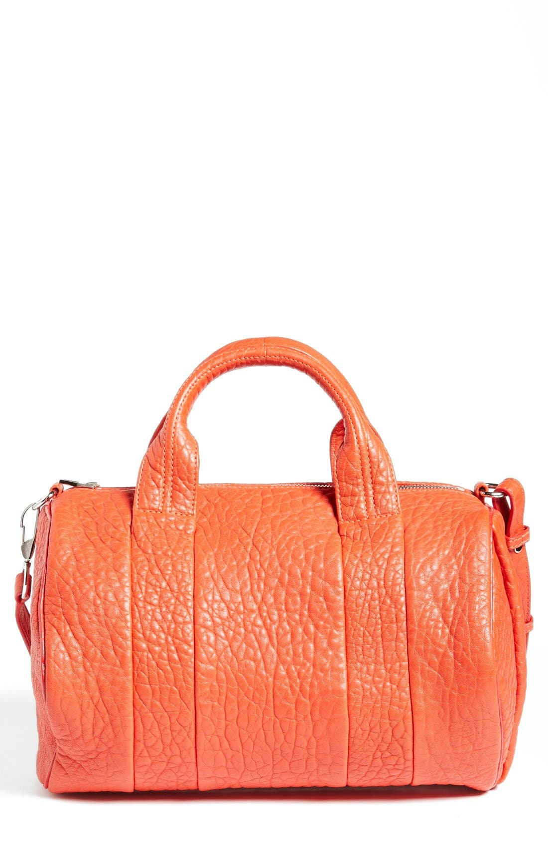 Main Image - Alexander Wang 'Rocco - Dumbo Nickel' Lambskin Leather Satchel