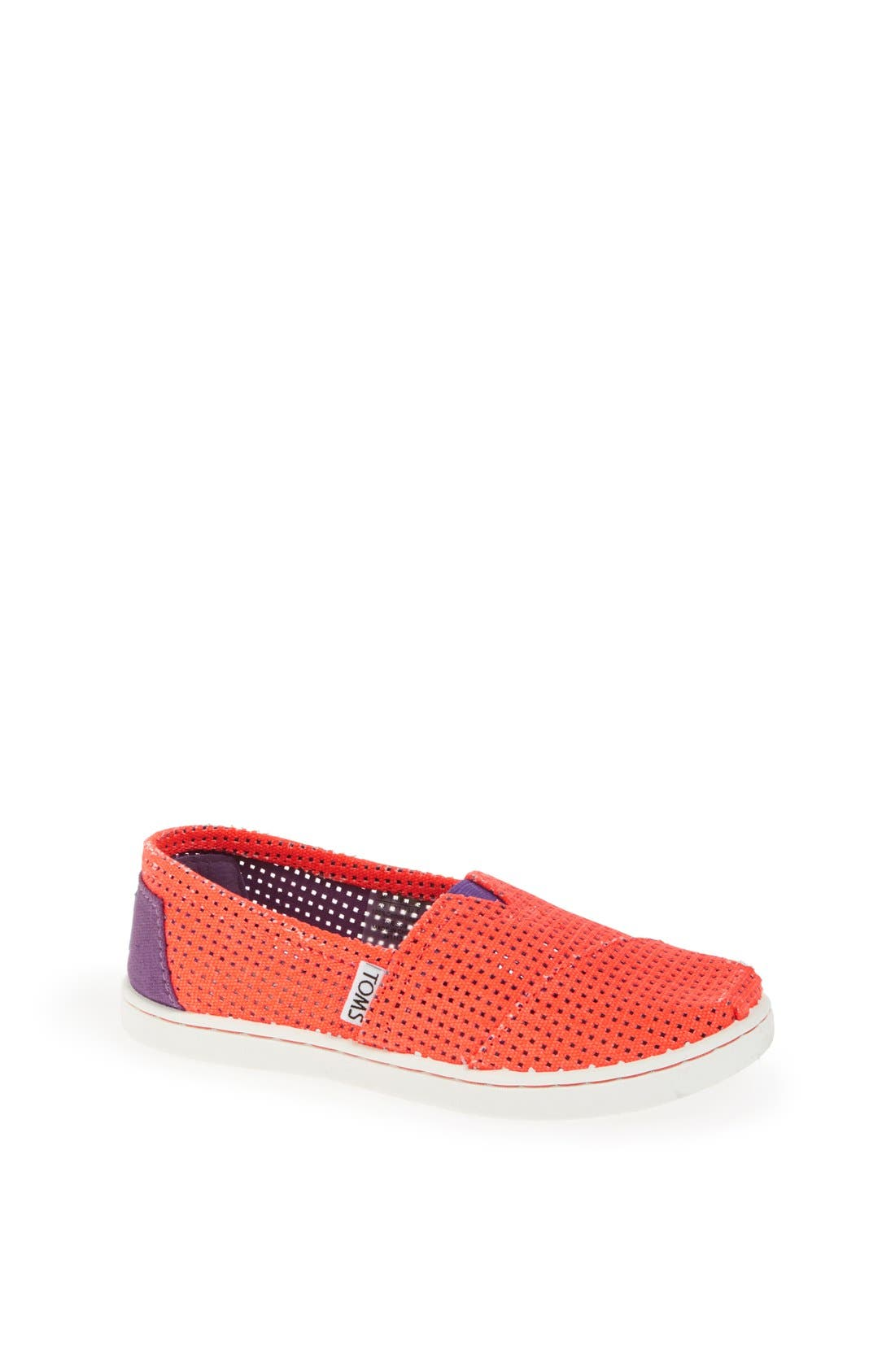 Main Image - TOMS 'Freetown' Two-Tone Slip-On (Toddler, Little Kid & Big Kid)