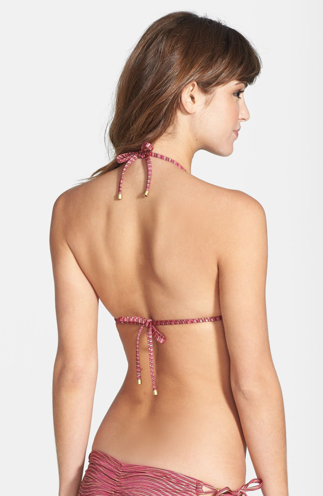 Alternate Image 2  - Vitamin A® 'Gwyneth' Triangle Bikini Top