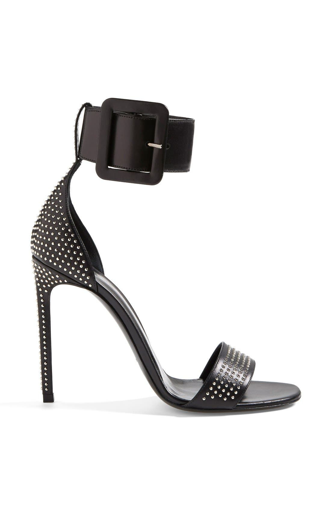 Alternate Image 4  - Saint Laurent 'Jane' Studded Sandal