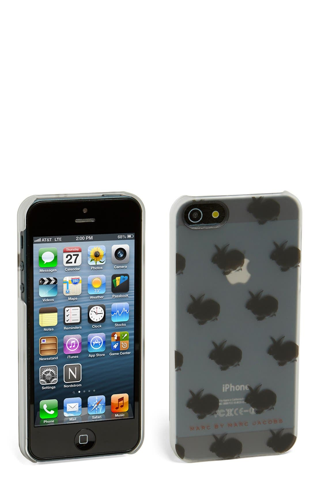Alternate Image 1 Selected - MARC BY MARC JACOBS 'Pets' iPhone 5 & 5s Case
