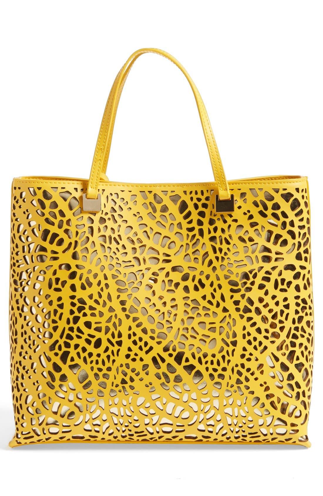 Alternate Image 4  - Ivanka Trump 'Julia' Perforated Handbag