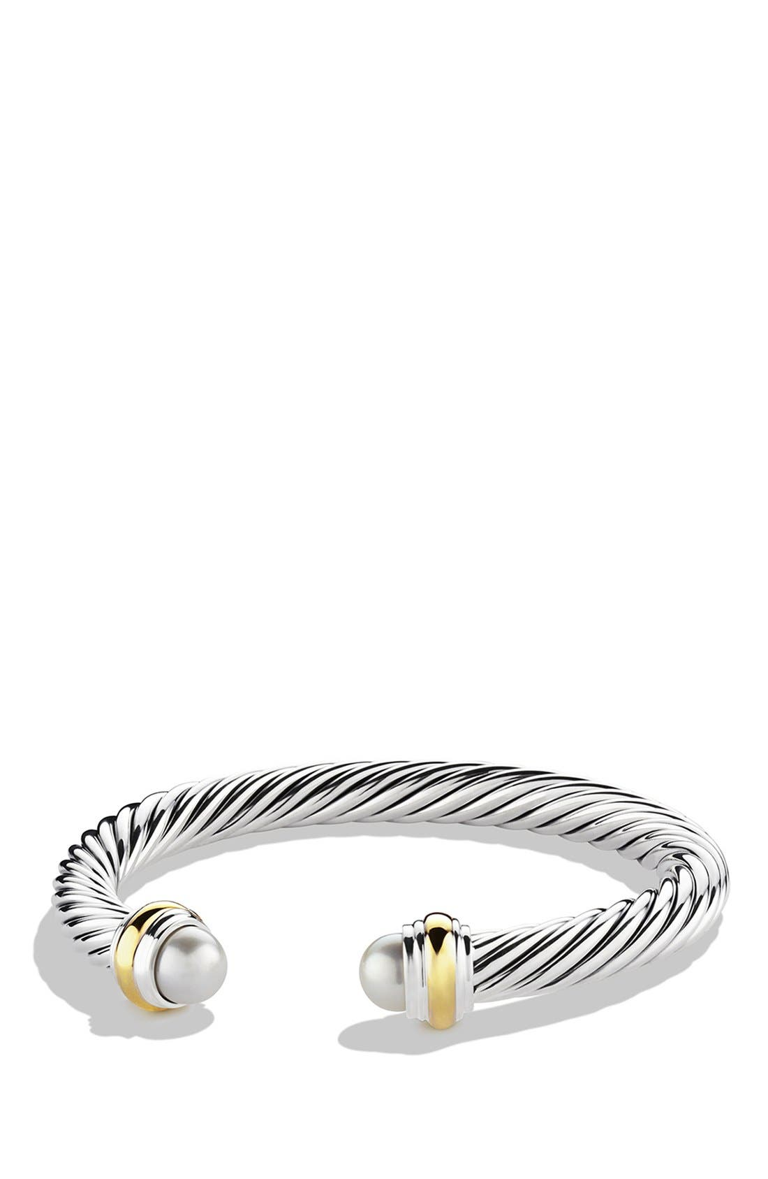 Alternate Image 1 Selected - David Yurman Cable Classics Bracelet with Semiprecious Stones