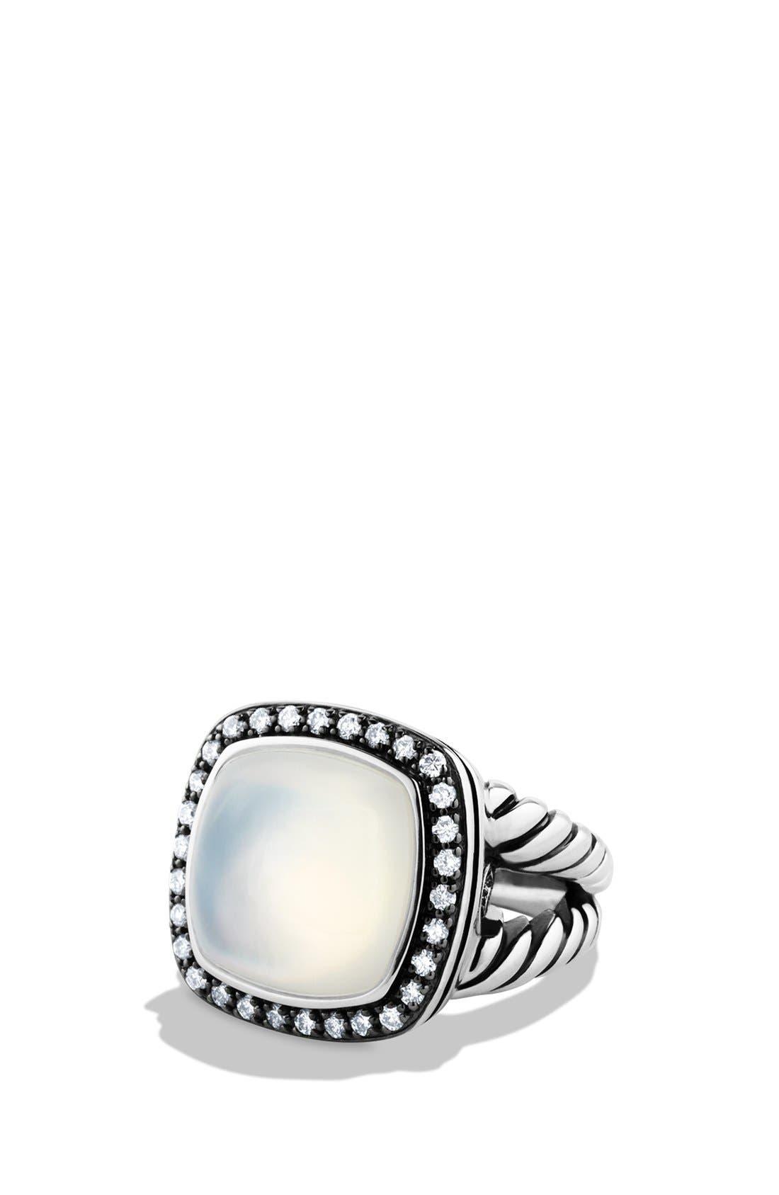 Alternate Image 1 Selected - David Yurman 'Albion' Ring with Semiprecious Stone & Diamonds