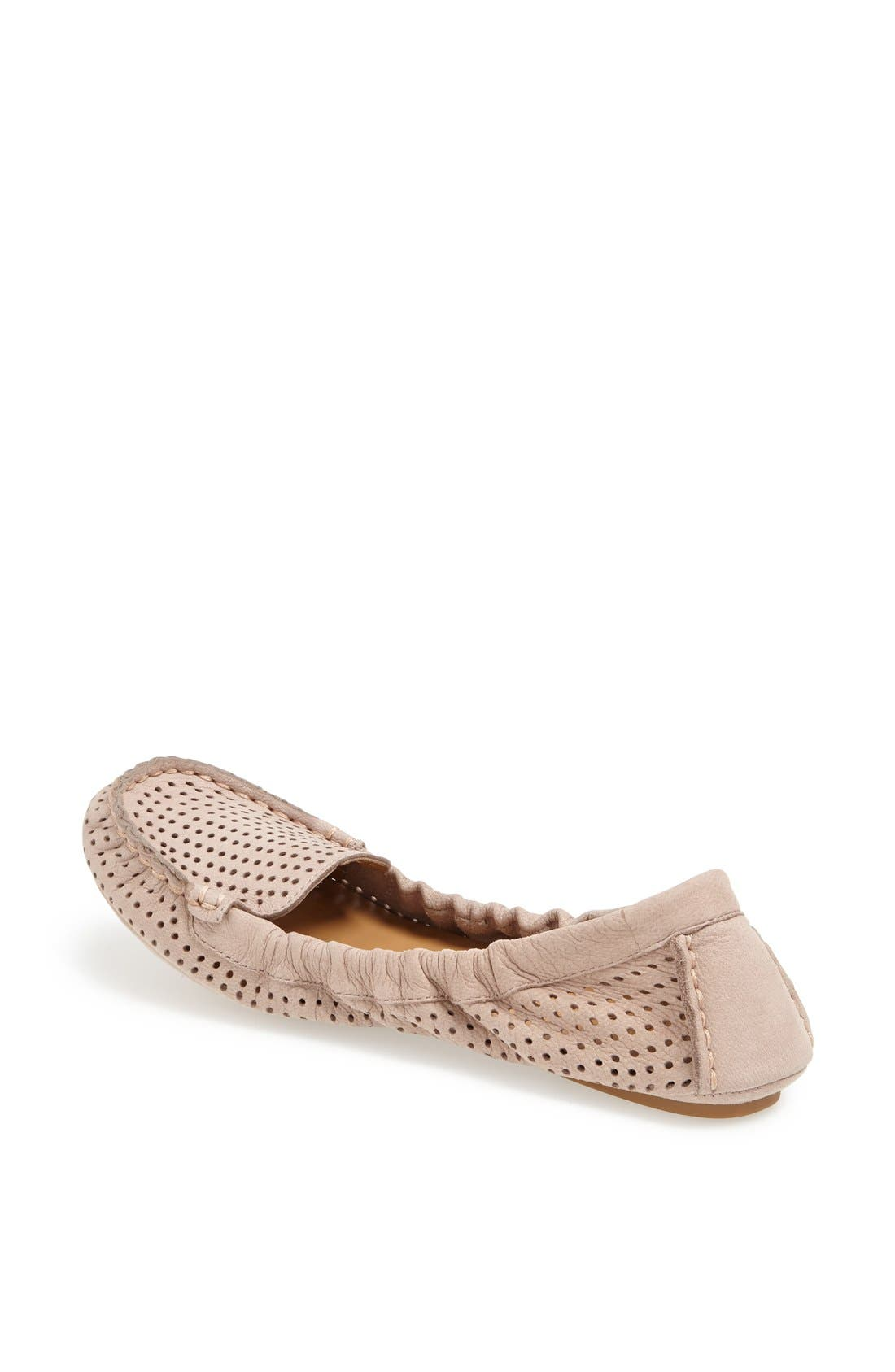Alternate Image 2  - Nine West 'Teanna' Perforated Nubuck Flat