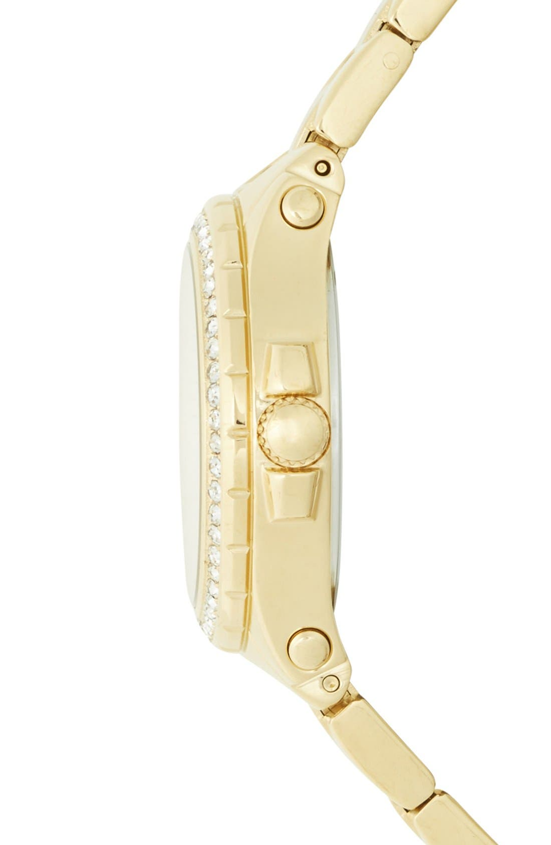 Alternate Image 3  - Juicy Couture 'Pedigree' Crystal Bezel Bracelet Watch, 32mm